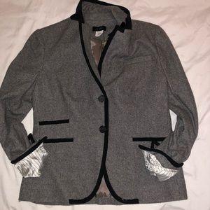 J crew schoolboy wool blazer